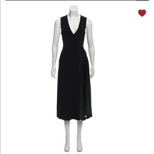 A.L.C Pleat accented midi dress size 0 / XS